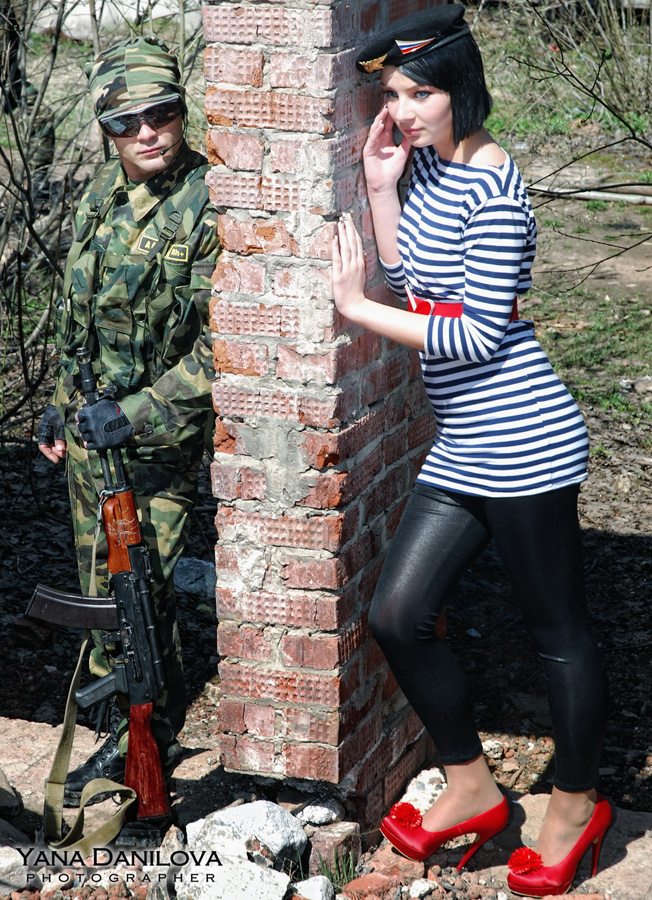 Вы просматриваете изображения у материала: Военно-полевой роман: фотоотчет №1 Яны Даниловой