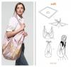 Платки: от топа до сумки. Фотопримеры.