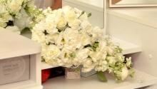 Букет создан флористической мастерской Винтаж