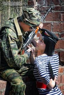 Военно-полевой роман: фотоотчет №1 Яны Даниловой