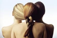 блондинка брюнетка и рыжая